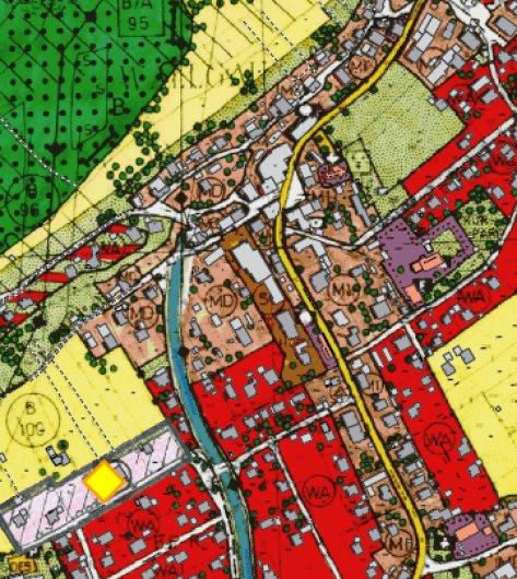 Flächennutzungsplan Gemeinde Wallgau, © Gemeinde Wallgau